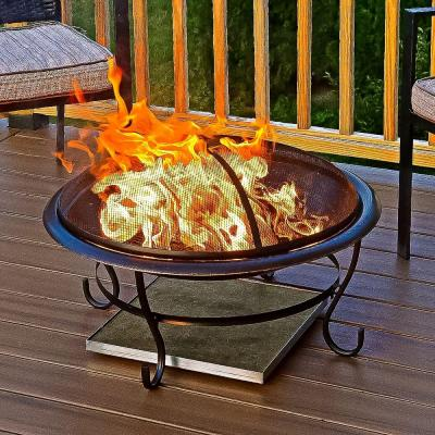 Deck Protect Deckprotect Fire Pit Heat Pad Fire Pit